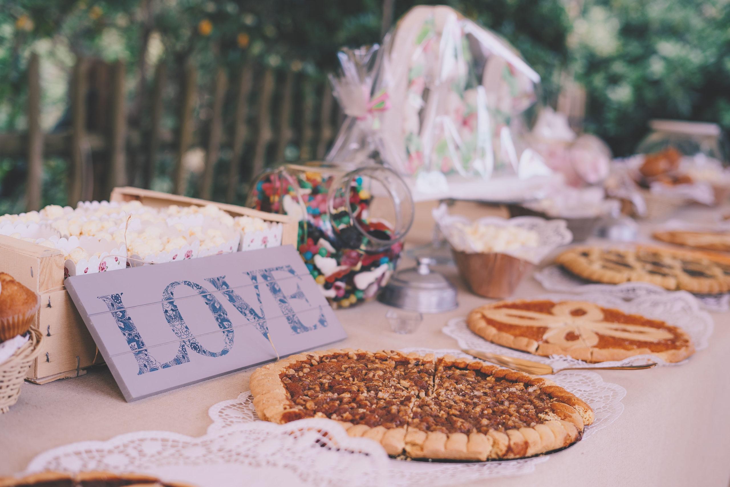 mariage gâteaux sucrerie