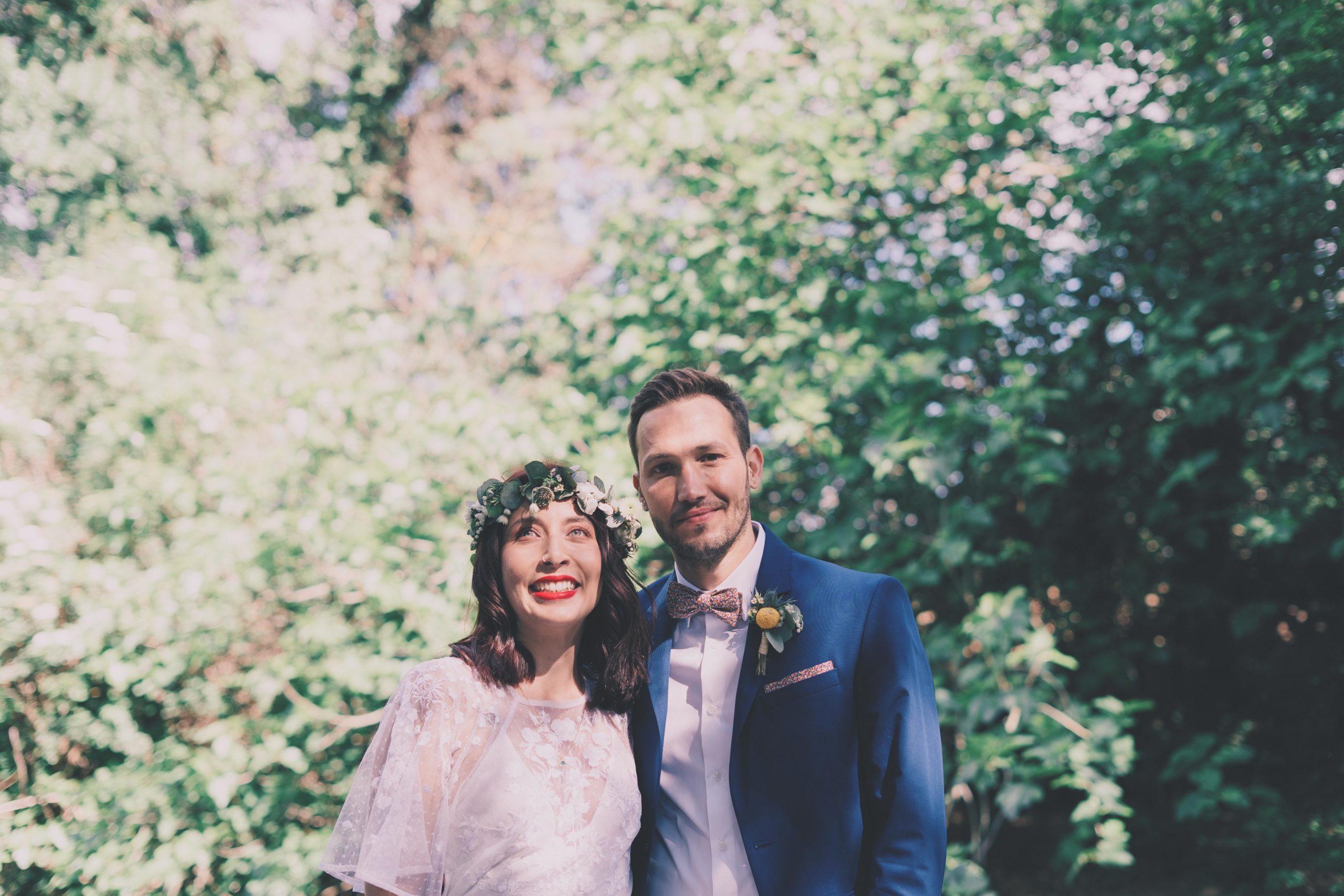 photo mariés mariage