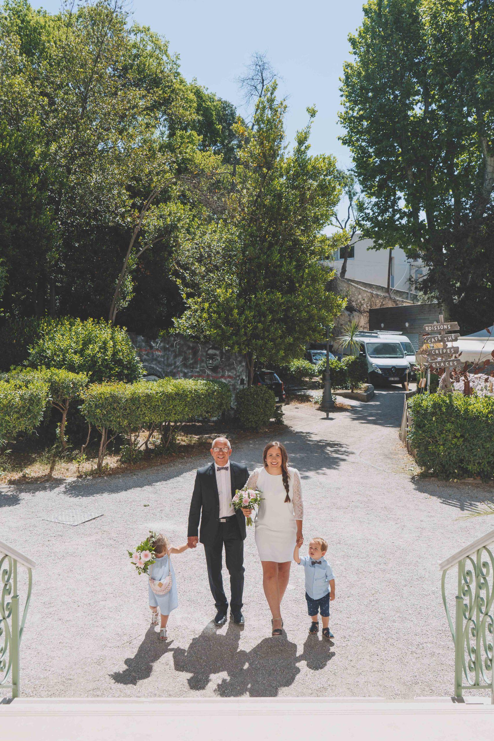 mariés enfants famille