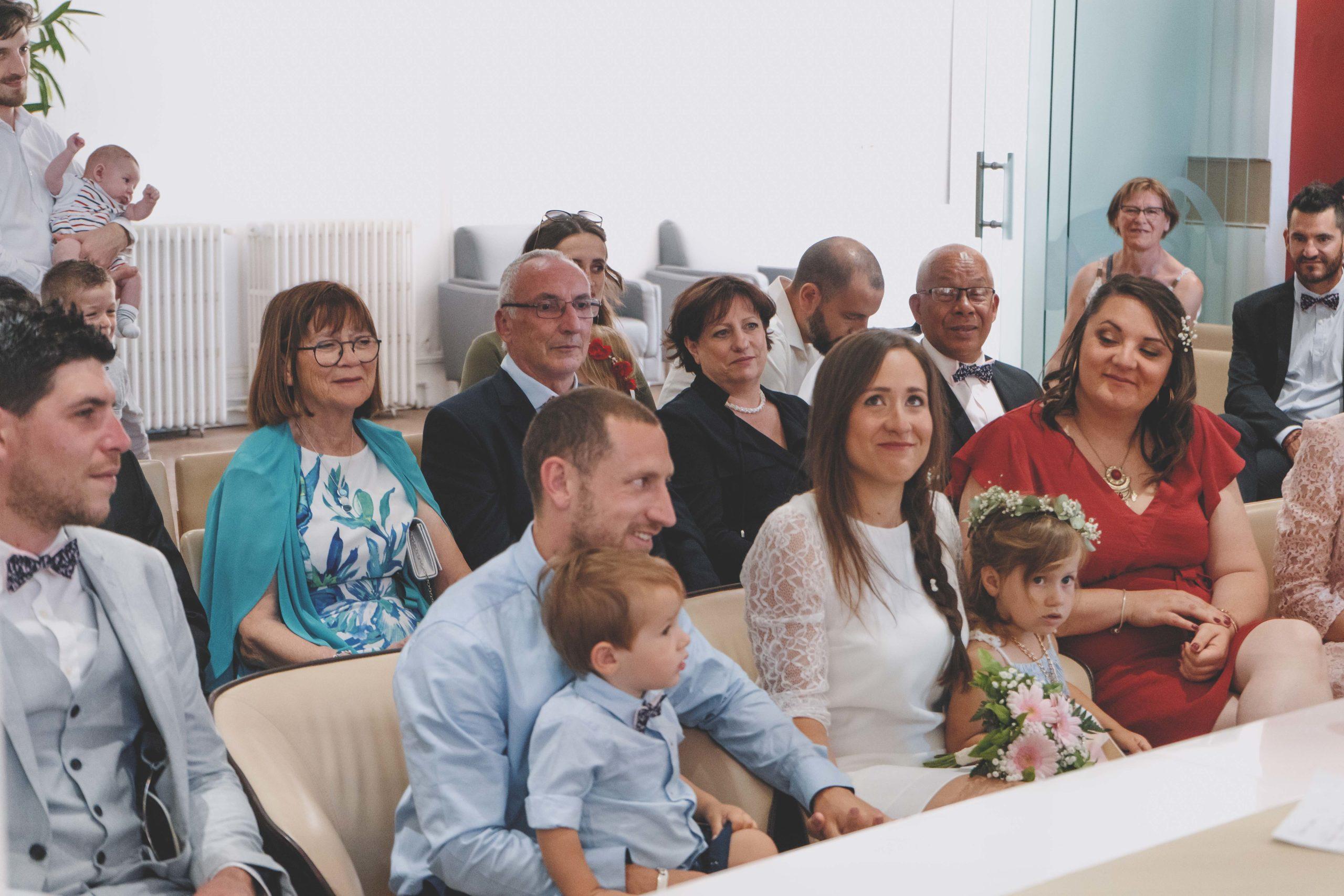 mariage mairie enfants